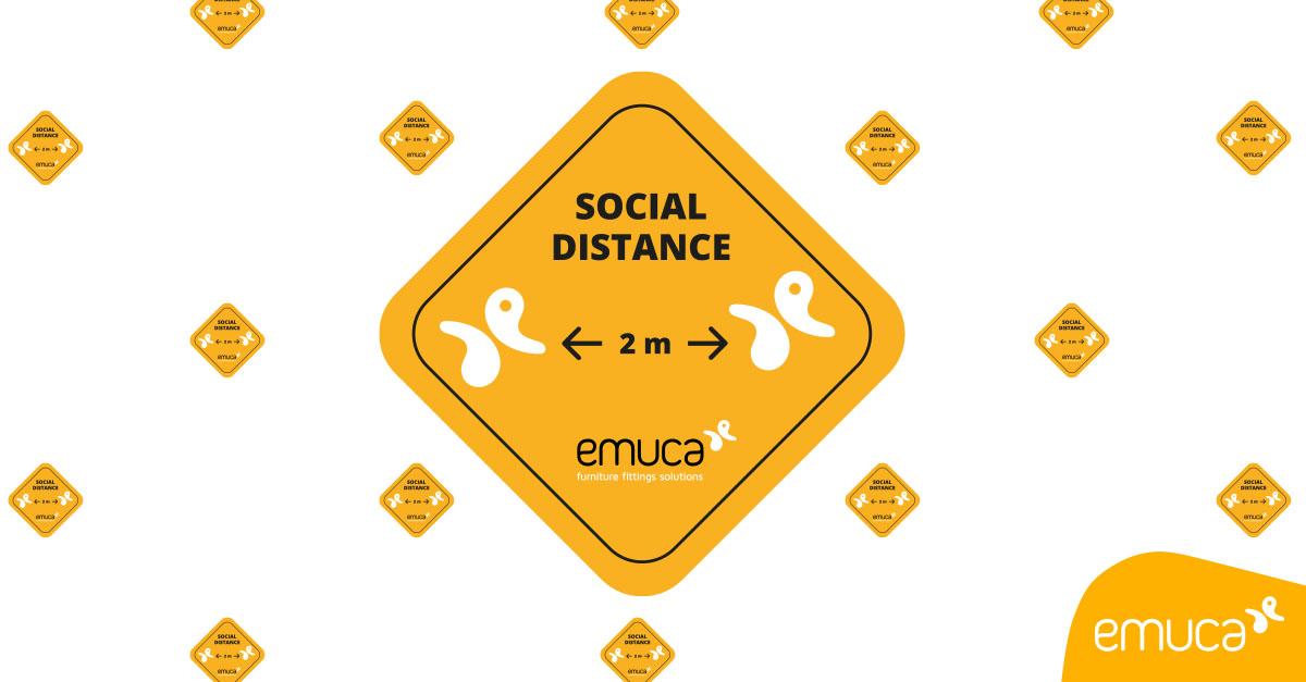 Señalética para la Distancia Social