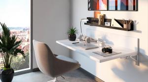 diseñar una oficina para teletrabajar